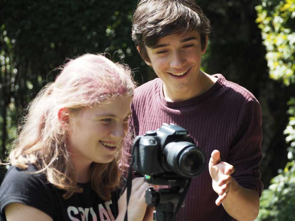 Summer Camps for Teenagers - Camera Angles